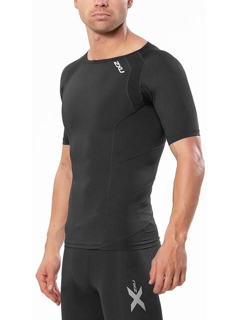 2XU Compression - Camiseta Running Hombre - negro